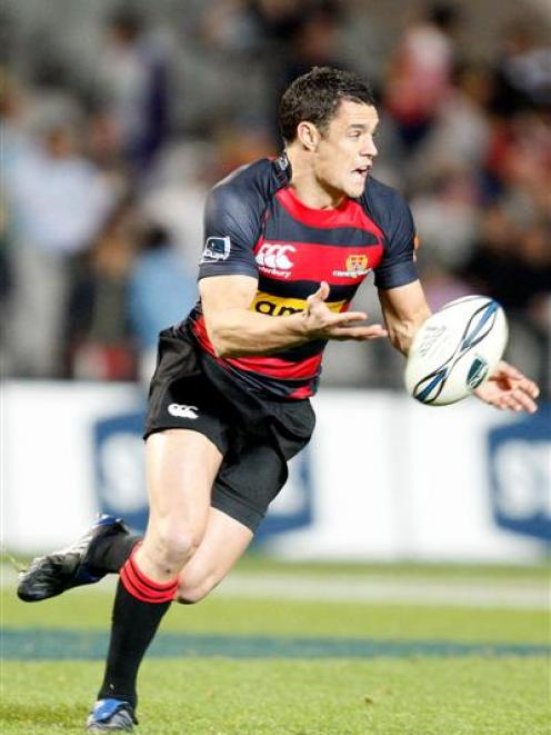 Rugby: Carter guides Canterbury to victory | Otago Daily Times