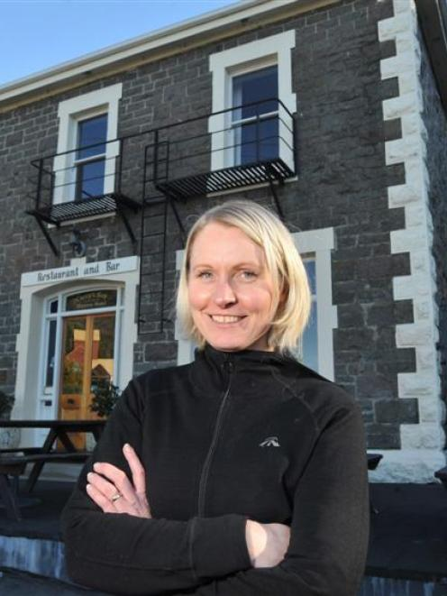 Careys Bay Historic Hotel owner Joanna Kidston  is putting the hotel up for sale. Photo by Gregor...