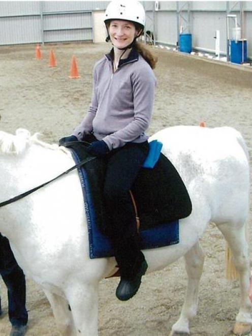 Carolyn Beaver has always had a love of horses.