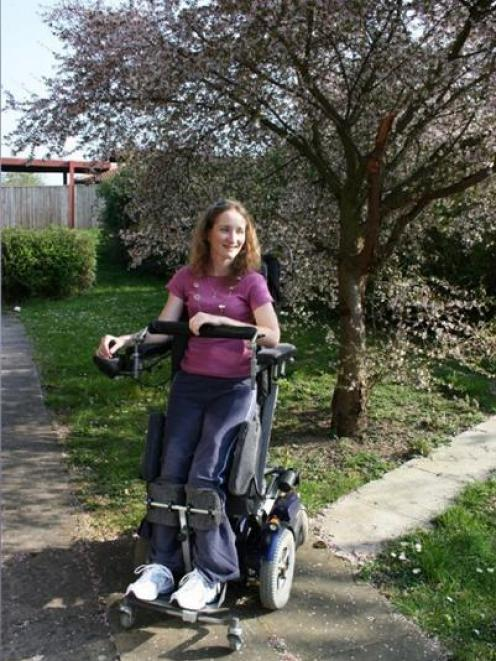 Carolyn Beaver spent six months in rehabilitation in Stoke Mandeville Hospital in the UK after a...