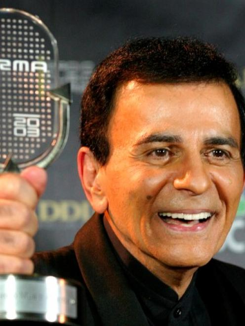 Casey Kasem, seen with his Radio Icon Award at the 2003 Radio Music Awards in Las Vegas, has died...