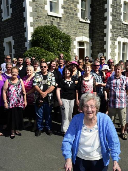 Catherine Wintrup (nee Smaill) (88) returns to Glencairn Homestead (Tautuku Fishing Club), where...