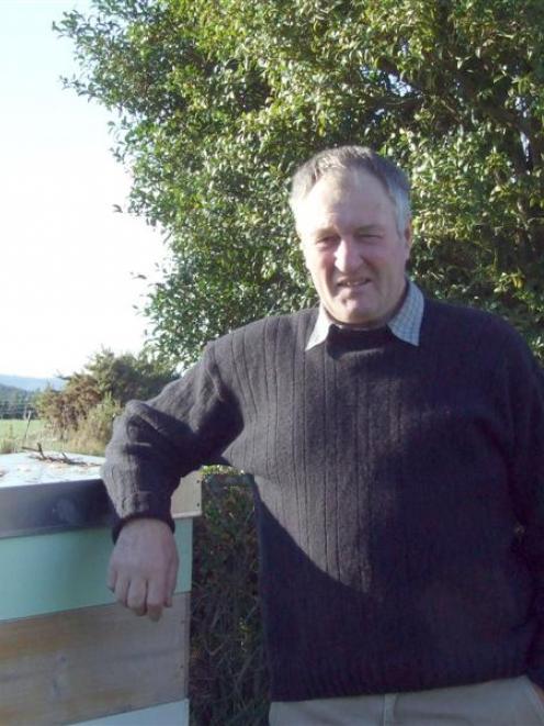 Century Farm Awards recipient Stuart Hallum on his farm at Hillend. Photo by Helena de Reus.