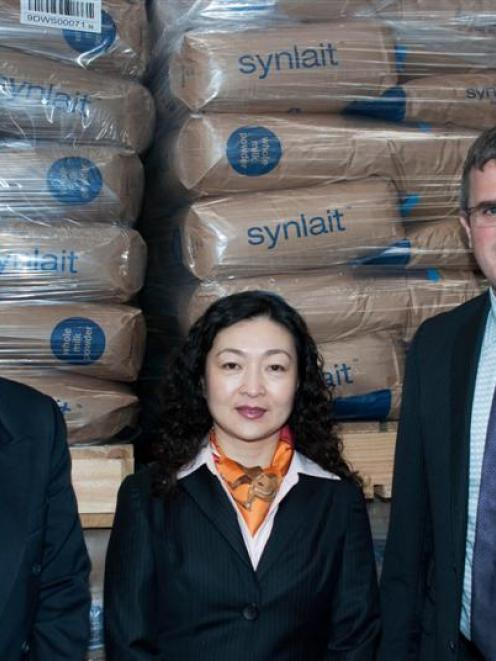 Chinese dairy company Bright Dairy yesterday announced it was taking a 51% stake in Synlait Milk....