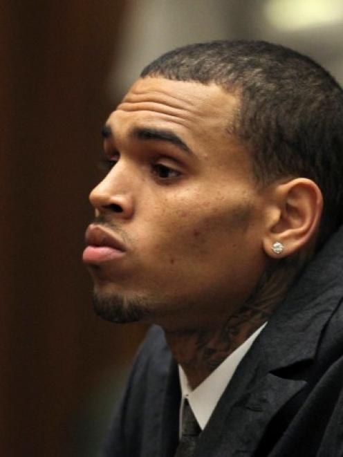 Chris Brown. Photo Reuters