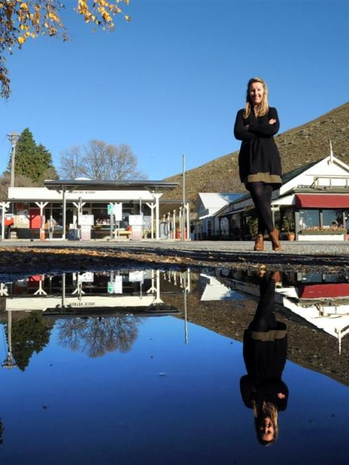 Christina Perriam combines the rural and retail sectors at the Tarras complex of stores. Photo by...