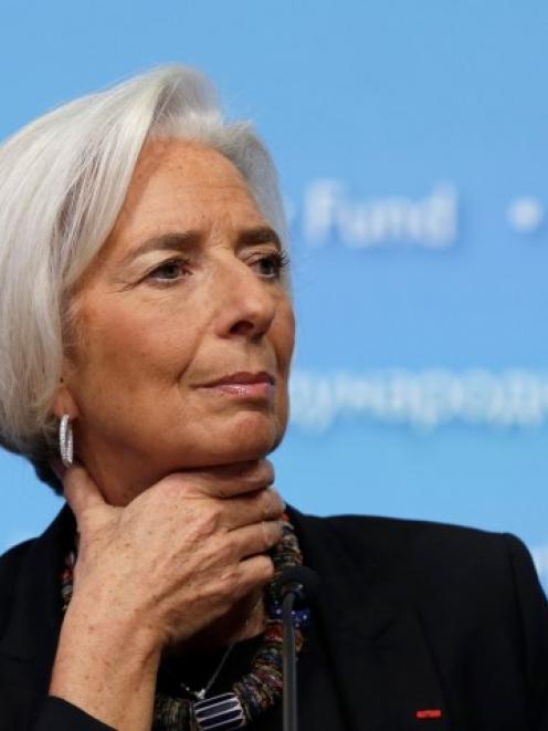 Christine Lagarde. Photo Reuters