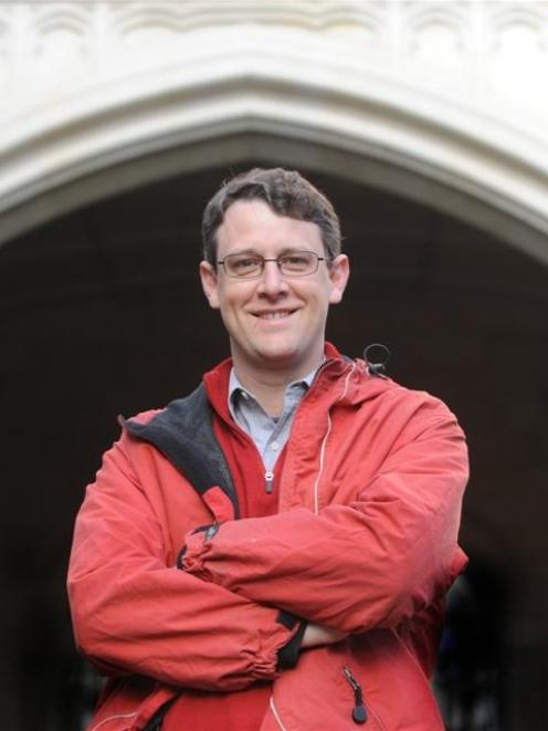 Christopher Lind, University of Otago graduate and now a leading neurosurgeon in Perth. Photo by...