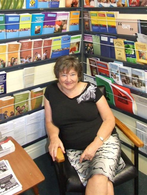 Citizens Advice Bureau volunteer Kathy Buckham at the Queenstown office. Photo by Christina...