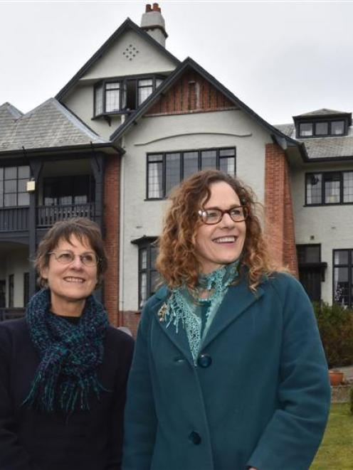 City Rise Up founding member Meg Davidson (left) and Ritchie House co owner Jacqui Dickson...