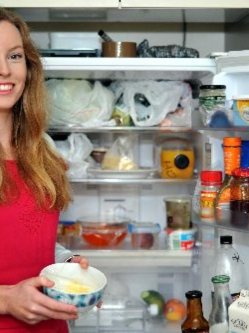 University of Otago student Claire Salmond is taking part in a national campaign to stop food...