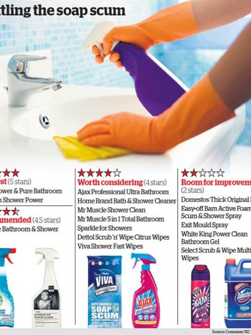 Revealed The Best Bathroom Cleaning Products Otago Daily Times - Fastest way to clean a bathroom
