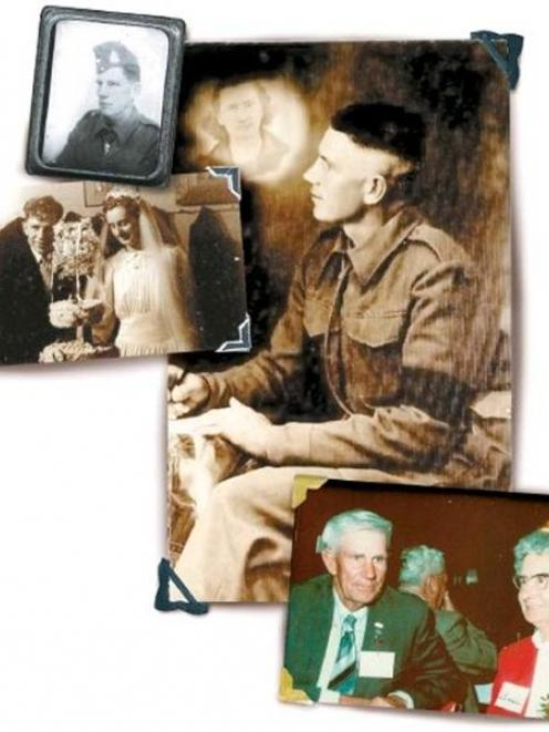 Clockwise from top left: The young George Pepperell in uniform. George Pepperell composes a...