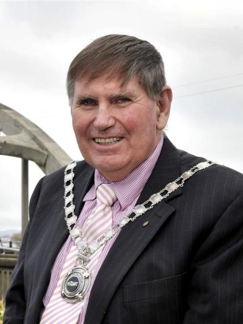 Clutha Mayor Juno Hayes is standing down after 12 years in the top job. Photo by Gerard O'Brien.