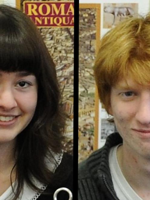 Co-duxes Peita Ferens and Green Rhian Gaffney
