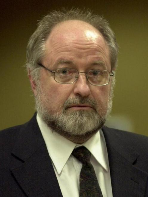 Colin Bouwer in court in 2001. Photo by ODT.