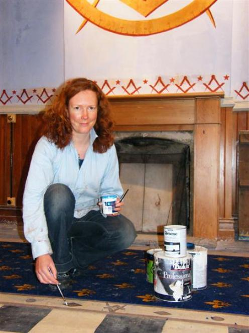 Conservator Eimear O'Connell applies her art history and building conservation expertise on the...