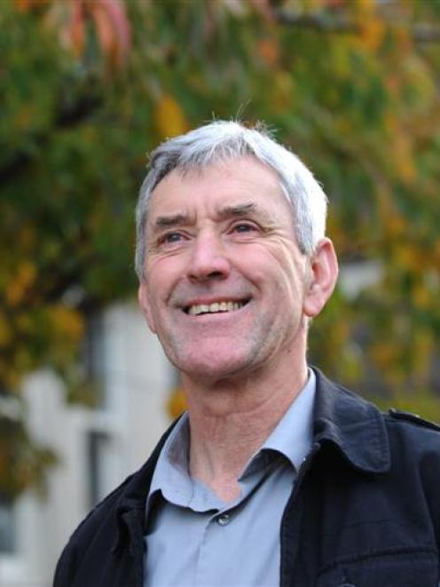 Construction business consultant Graham Williams, of Dunedin, is tasked with helping Dunedin...