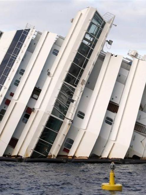 Costa Concordia.