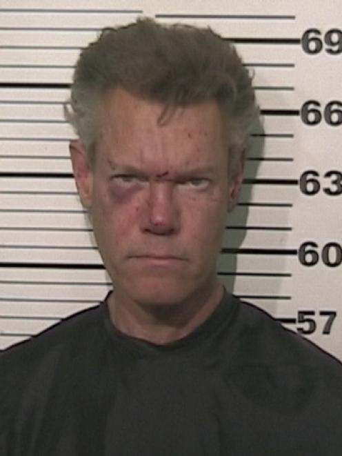 Country Singer Randy Travis is pictured in this booking photo. REUTERS/Grayson County Texas...