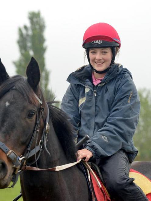 Courtney Barnes will continue her busy holiday riding period with seven rides at Gore tomorrow....