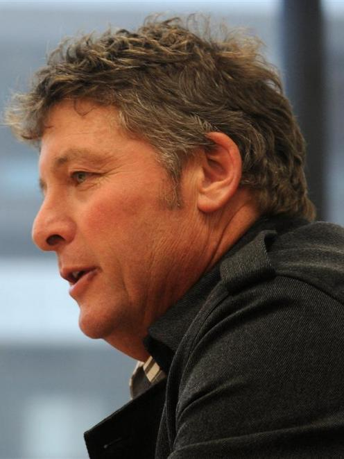 Cr Andrew Noone, chairman of the Dunedin City Council infrastructure services committee,...