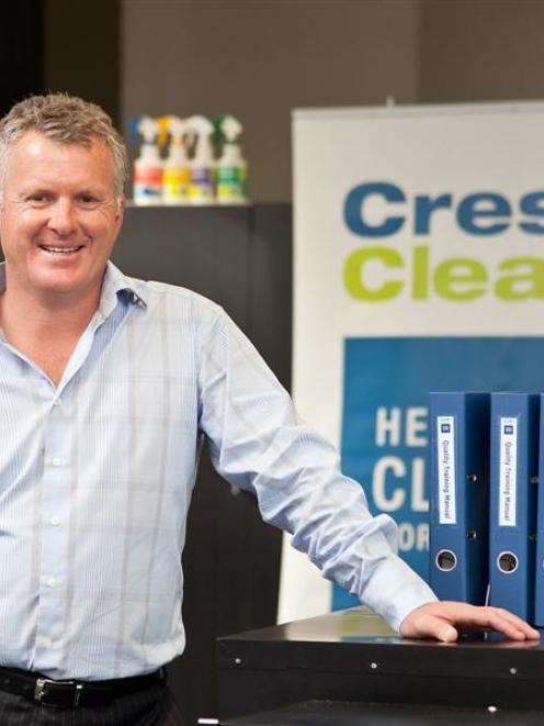 CrestClean managing director Grant McLauchlan. Photo supplied.