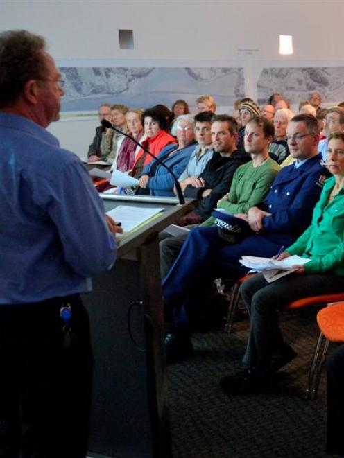 Cycling advocates gather at  Toitu Otago Settlers Museum last night to hear about Dunedin's...