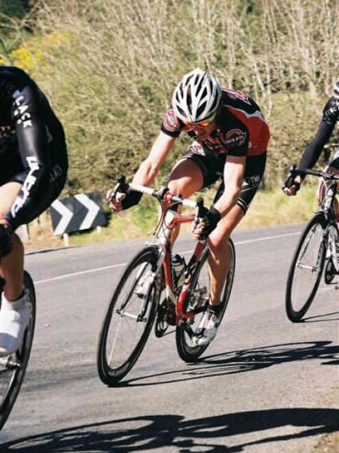 Cycling is a passion for Altum lower South Island area sales manager Simon Croom. Photo from...