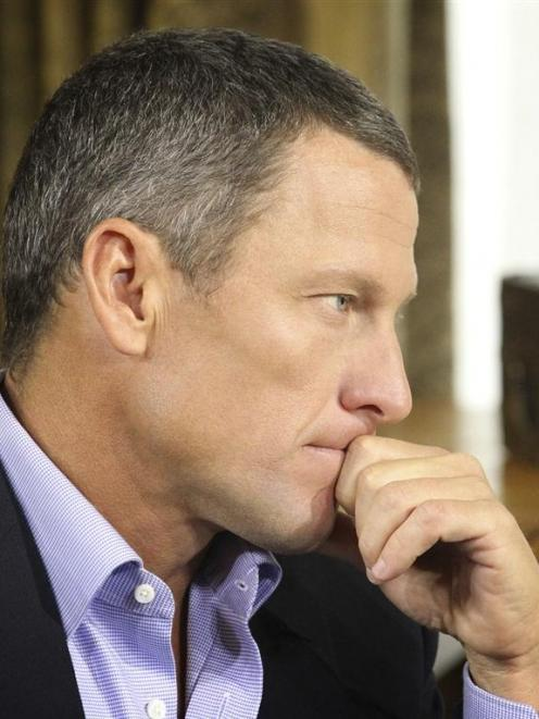 Cyclist Lance Armstrong admits doping in an interview with Oprah Winfrey. REUTERS/Harpo Studios