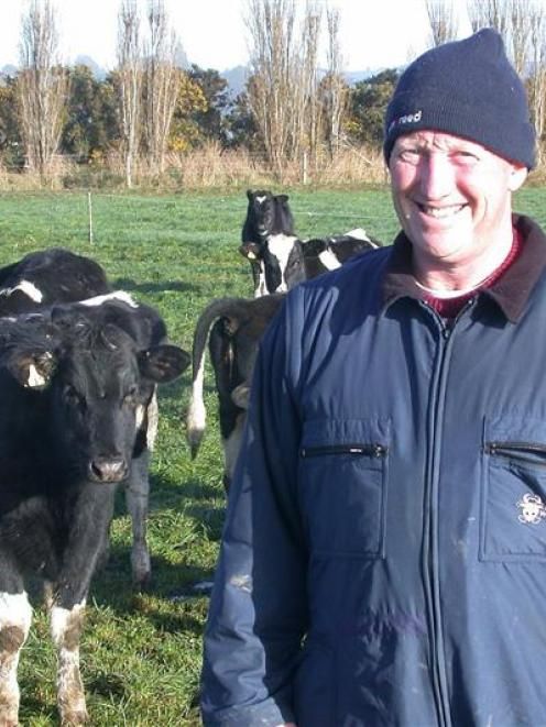 Dairy farmer and David Wilson, who farms on the Taieri, from Southland says good communication...