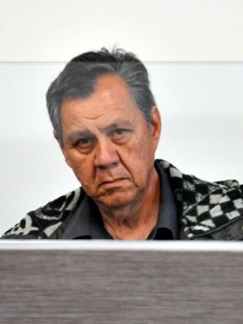 Damas Flohr at an earlier court hearing.
