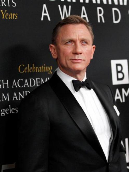 Daniel Craig.  REUTERS/Mario Anzuoni