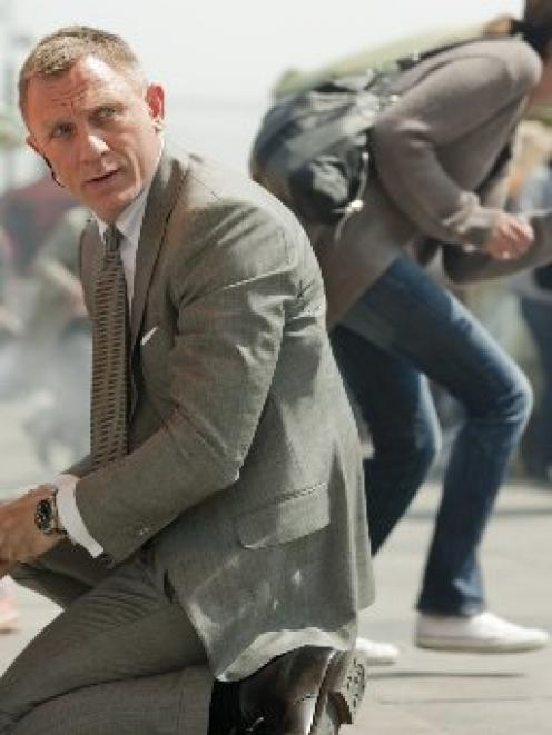 Daniel Craig is back after a four-year hiatus as James Bond 007 in Skyfall.