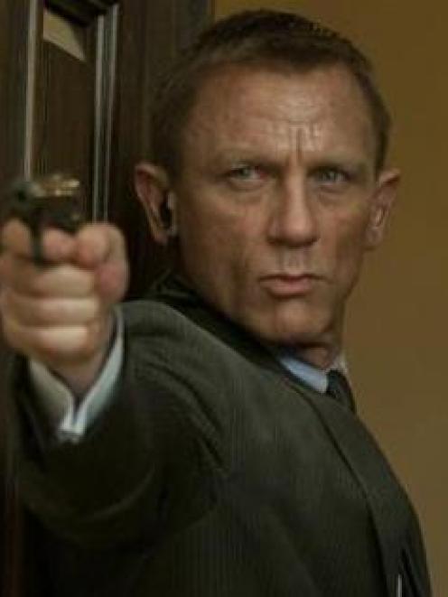 Daniel Craig is the current James Bond.