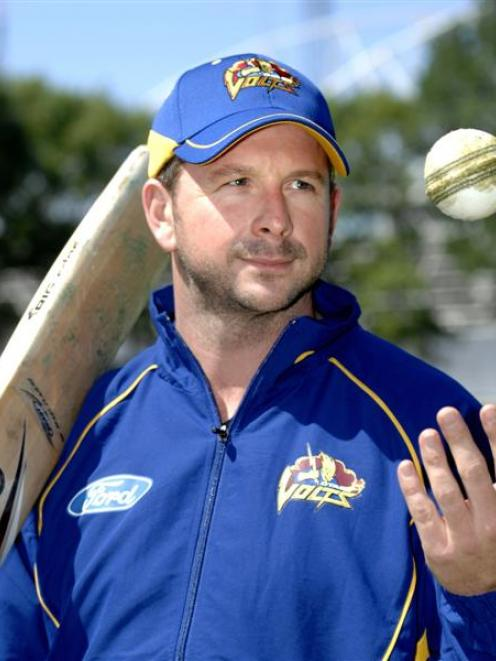 "Darren Stevens at the University Oval yesterday - ""If we are chasing a ridiculous amount of runs..."