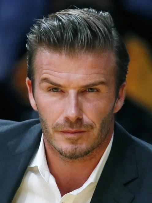 David Beckham. Photo by Reuters