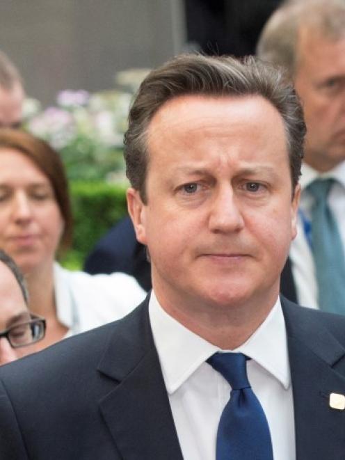 David Cameron. Photo Reuters