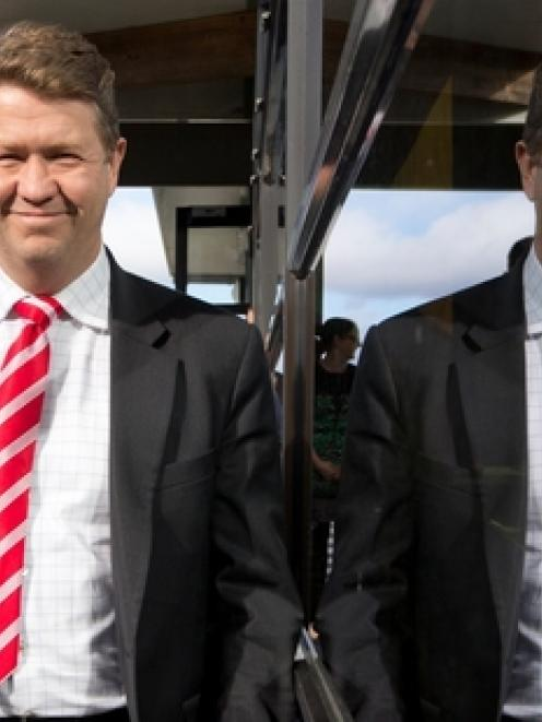 David Cunliffe and Rongotai MP Annette King took their message to the streets of Newtown in...