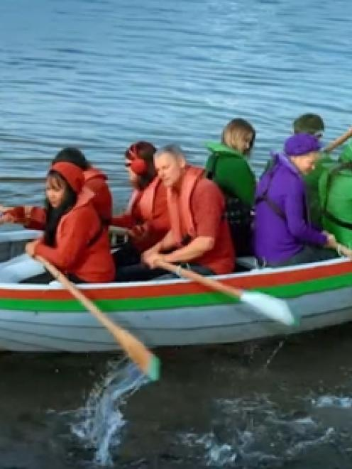 David Cunliffe is in Labour's ad, while National goes boating.