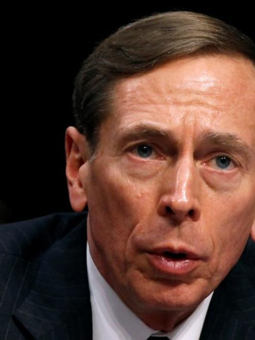 David Petraeus. Photo Reuters