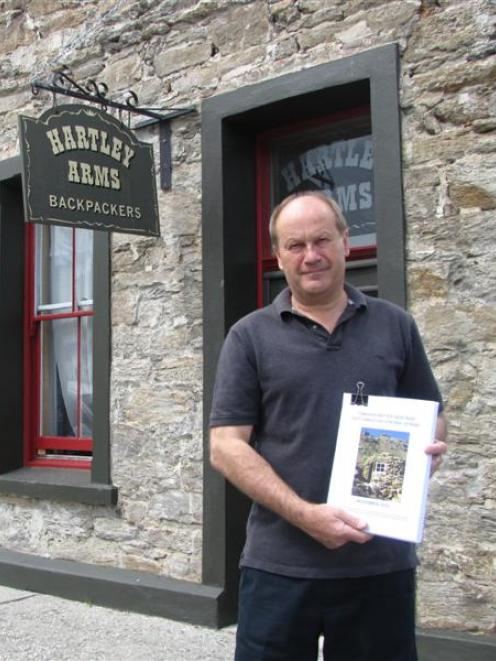 David Ritchie, a member of the working party which developed a new report on Central Otago...