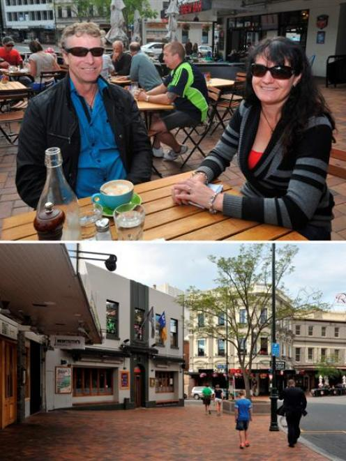 David Sewell and Debbie Seddon had no trouble finding somewhere to have a cup of coffee in the...
