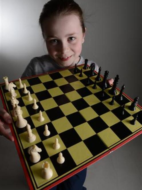 Devon Gamble floored her opponents and her parents when she won two gold medals in Chess Power's...