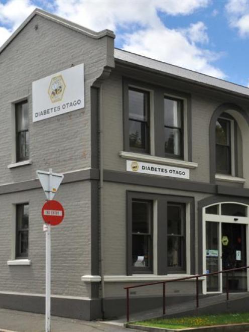 Diabetes Otago premises in Frederick St, Dunedin. Photo by Jane Dawber.