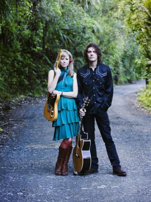 Dianne Swann and Brett Alexander of The Bads.