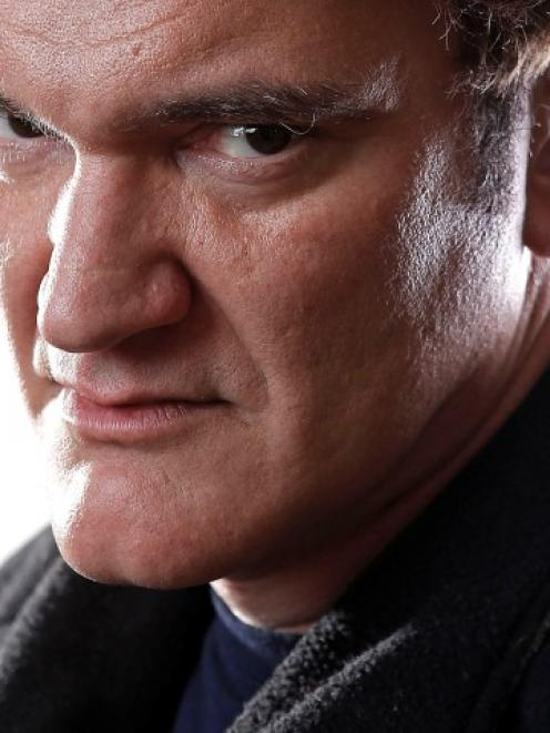 Director Quentin Tarantino poses for a portrait while promoting his movie 'Django Unchained' in...