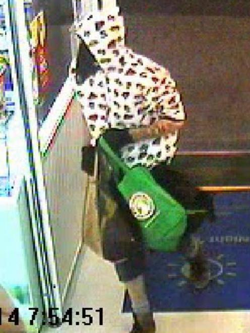 Do you know this man? Did you see him at the dairy this morning? If so, police would like to hear...