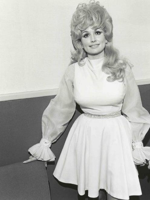 Dolly in 1972. Photo by Henry Horenstein.
