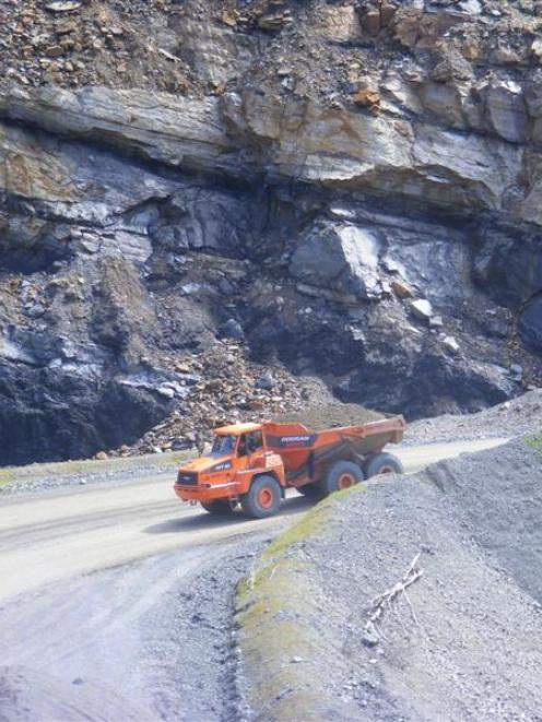 Domestic coal from Bathurst Resources' three domestic mines - Cascade (pictured), Takitimu and...